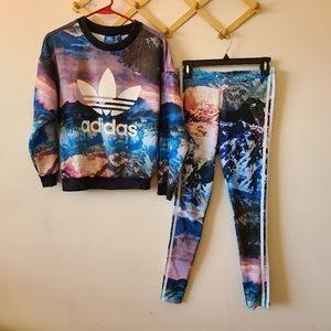 Adidas originals mountain clash set
